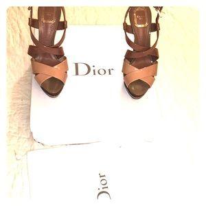 Dior Strappy Platforms